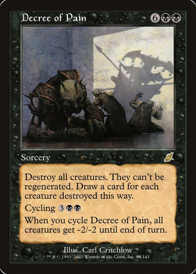 Decree of Pain [SCG] (F)