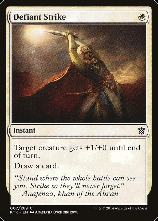 Defiant Strike [KTK]