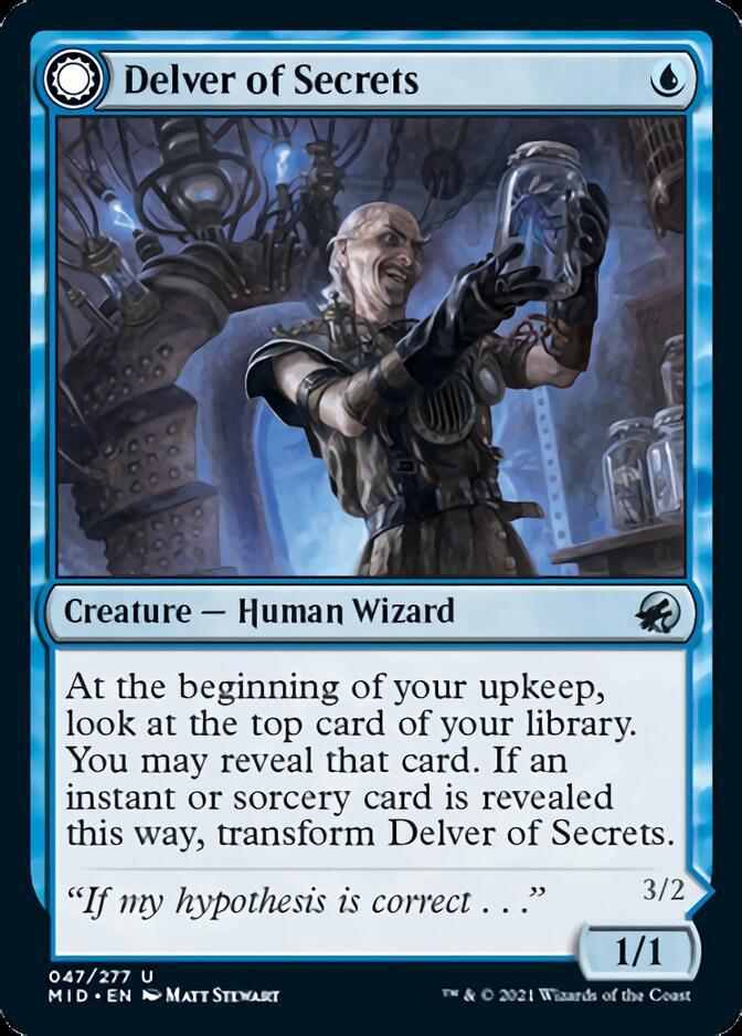 Delver of Secrets [MID]