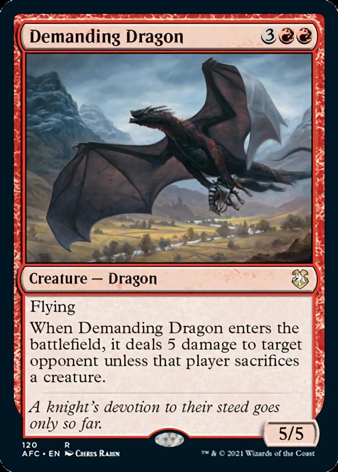 Demanding Dragon [AFC]