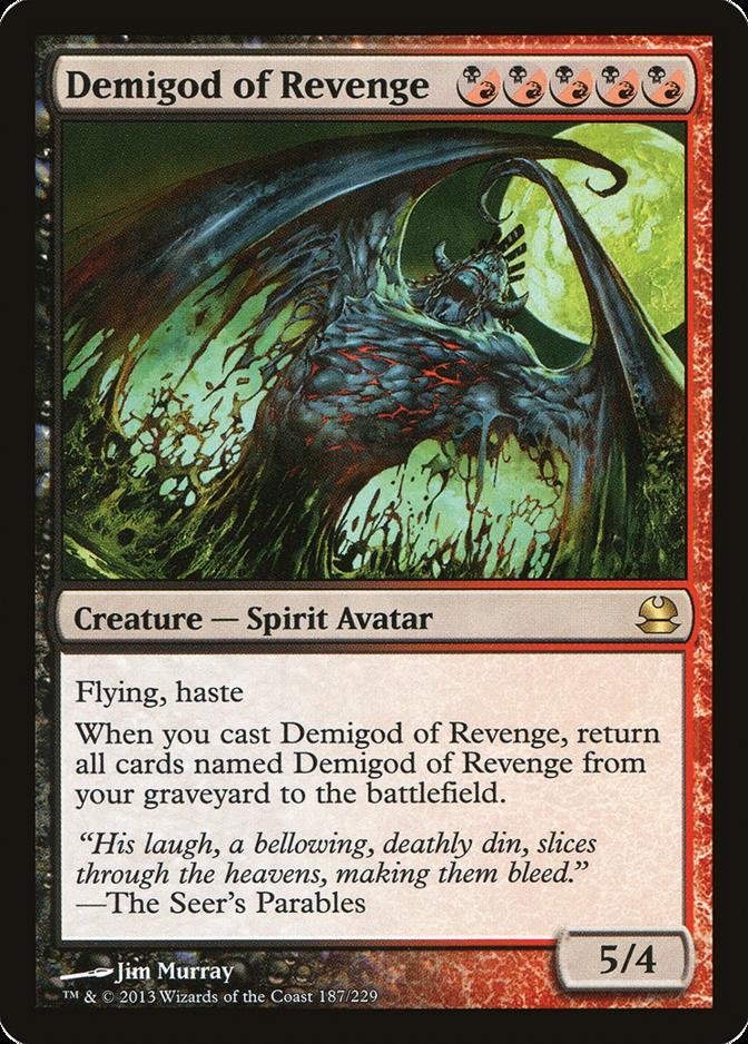 Demigod of Revenge [MMA]