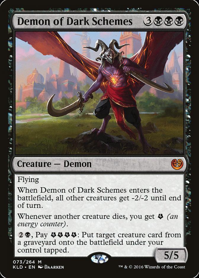 Demon of Dark Schemes [KLD]