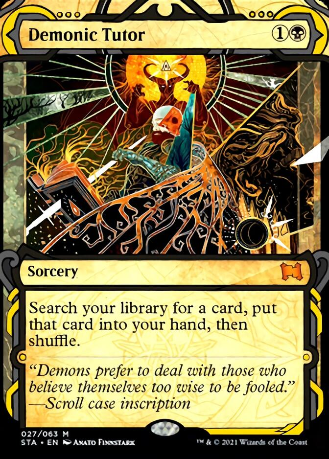Demonic Tutor [STA]