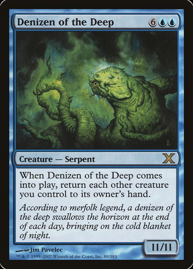 Denizen of the Deep [10E]