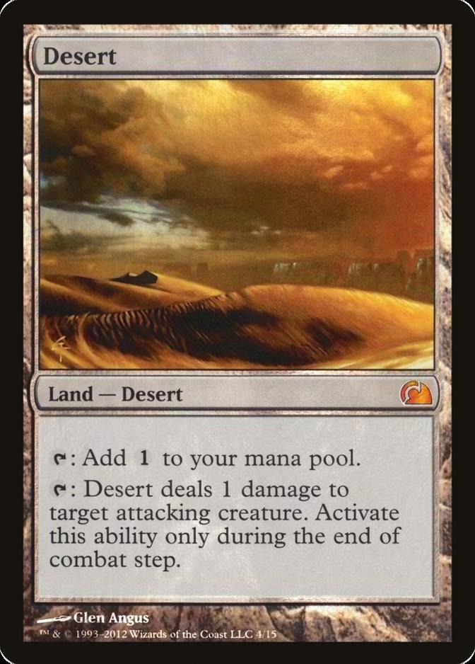 Desert [V12] (F)