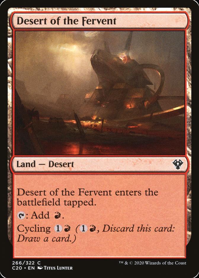 Desert of the Fervent [C20]