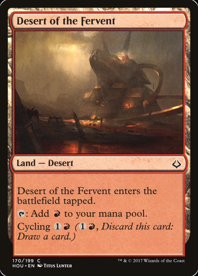 Desert of the Fervent [HOU]