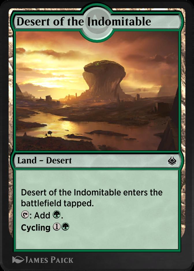 Desert of the Indomitable [AKR]