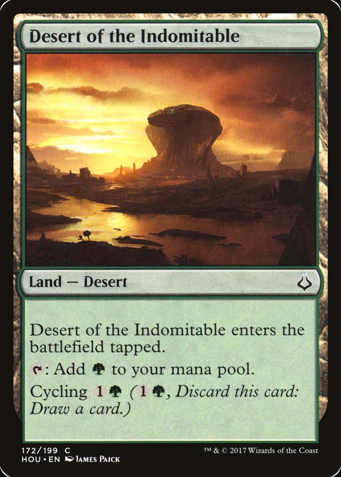 Desert of the Indomitable [HOU]