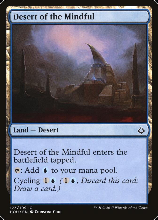 Desert of the Mindful [HOU]