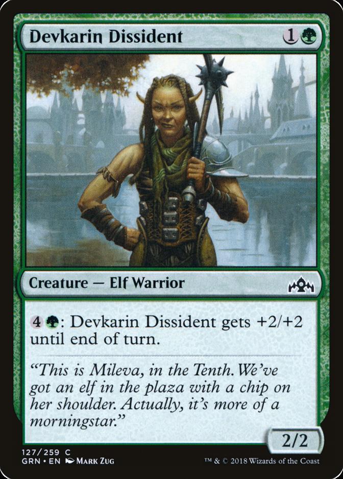 Devkarin Dissident [GRN] (F)