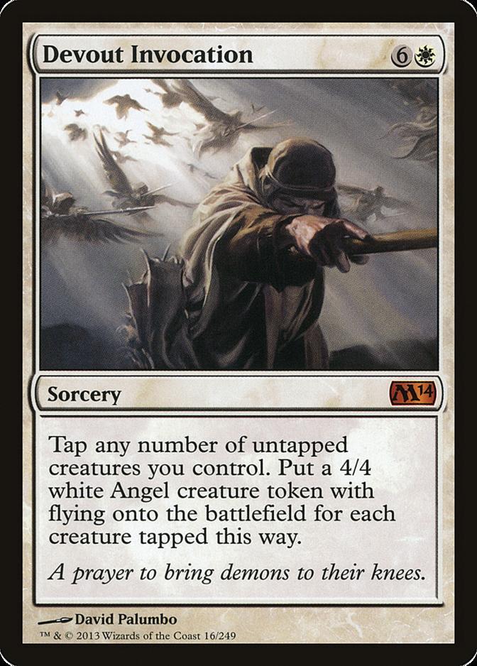 Devout Invocation [M14]