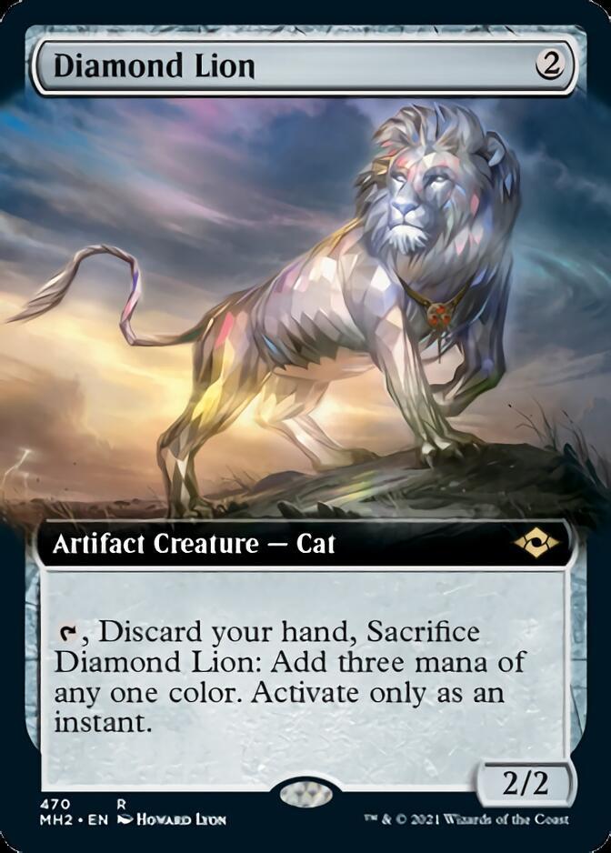 Diamond Lion <extended> [MH2]