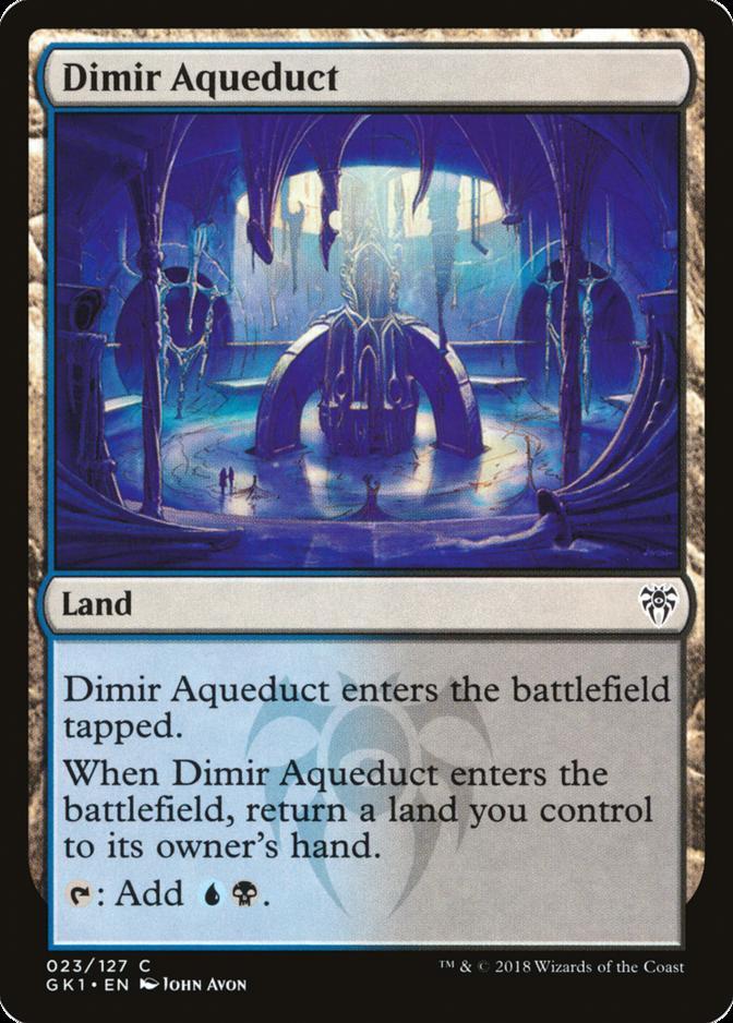 Dimir Aqueduct [GK1]