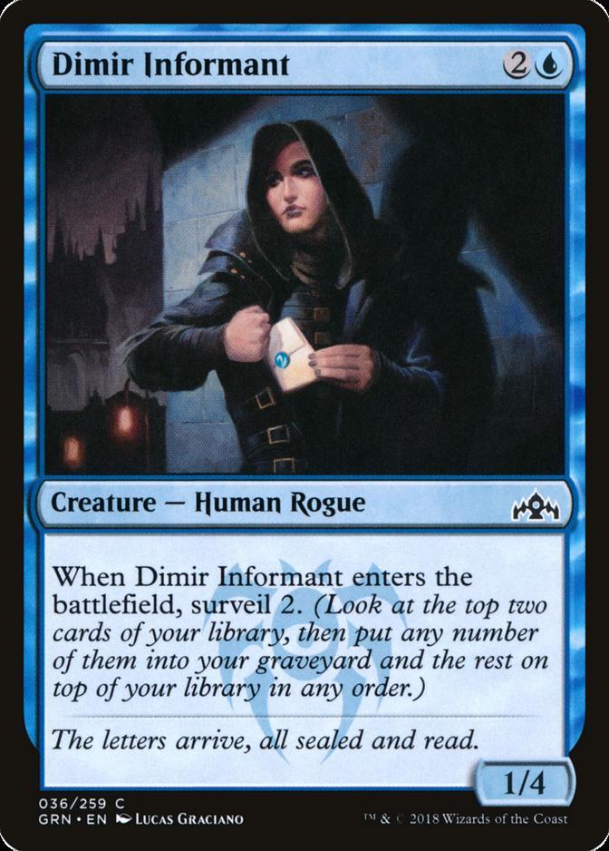 Dimir Informant [GRN]