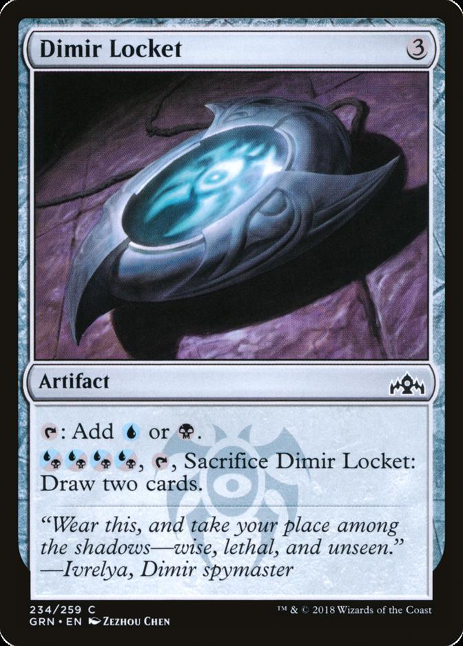 Dimir Locket [GRN]