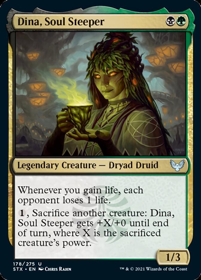 Dina, Soul Steeper [STX]