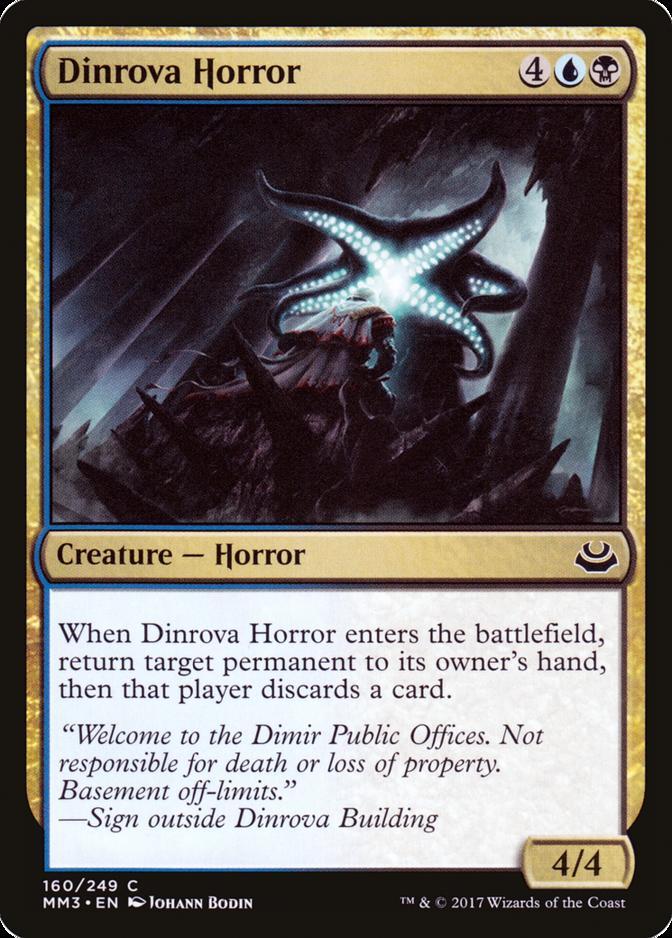 Dinrova Horror [MM3]