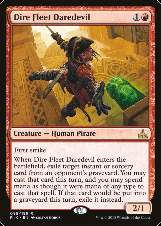 Dire Fleet Daredevil [RIX]