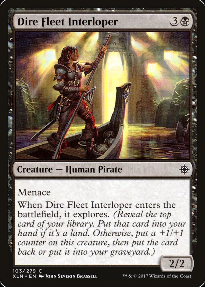 Dire Fleet Interloper [XLN]