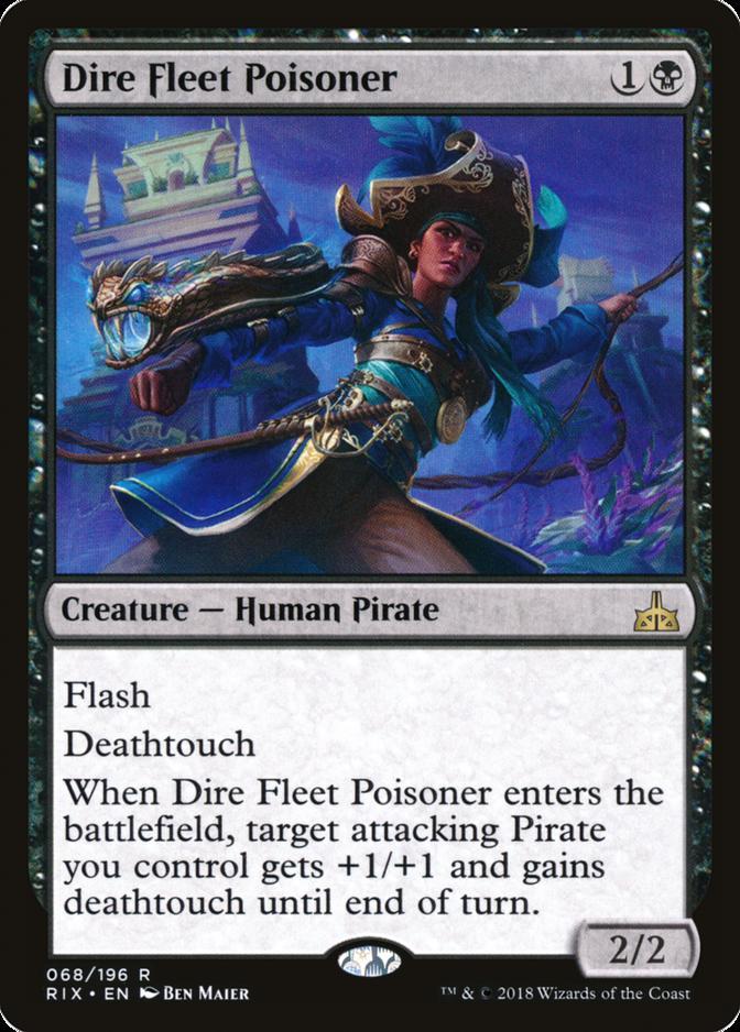Dire Fleet Poisoner [RIX]