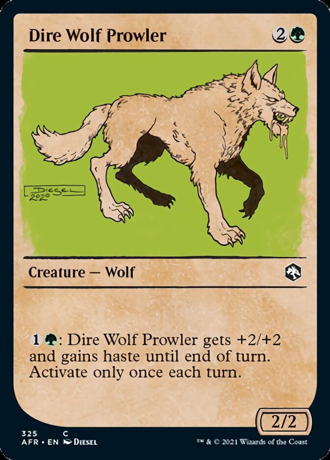 Dire Wolf Prowler <showcase> [AFR]