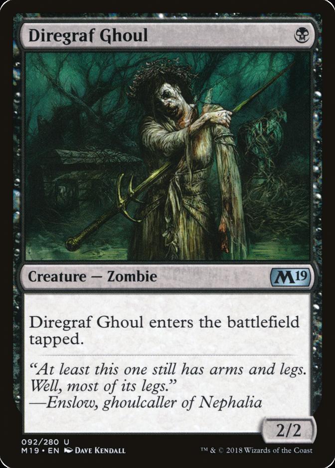 Diregraf Ghoul [M19]