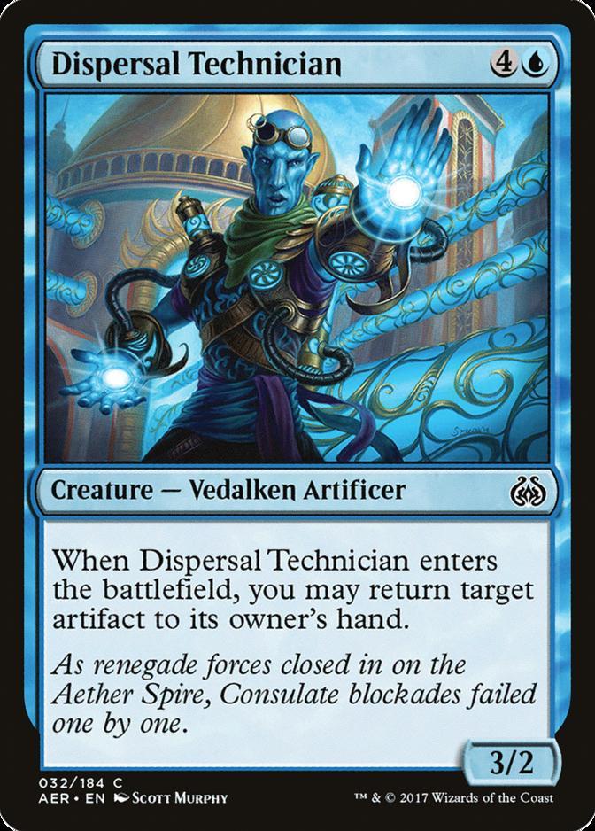 Dispersal Technician [AER]