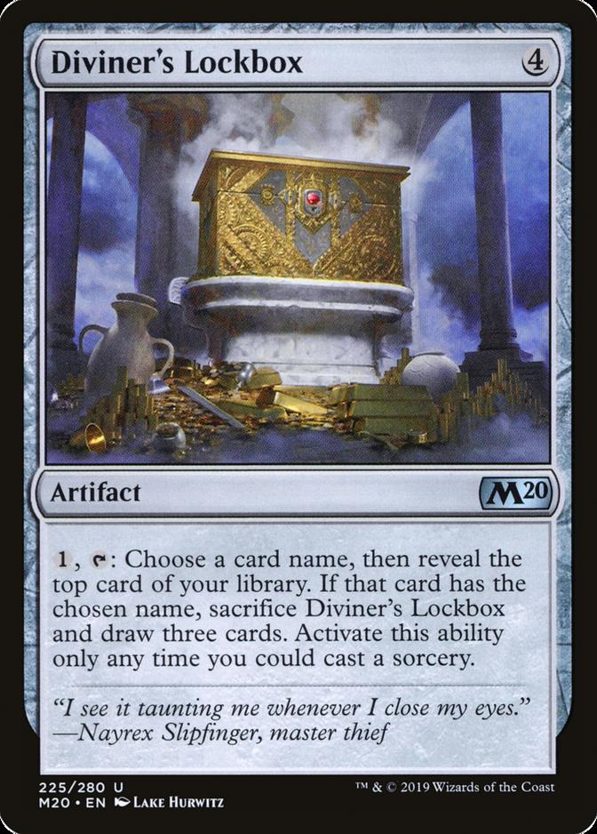 Diviner's Lockbox [M20]