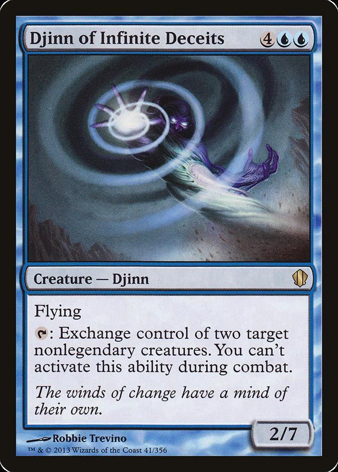Djinn of Infinite Deceits [C13]