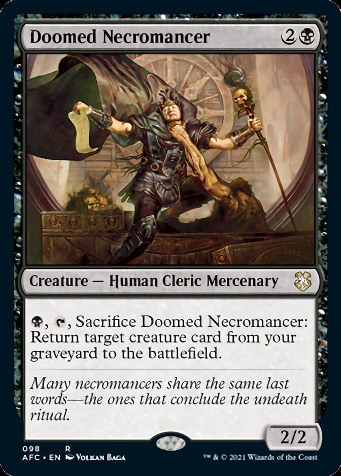Doomed Necromancer [AFC]