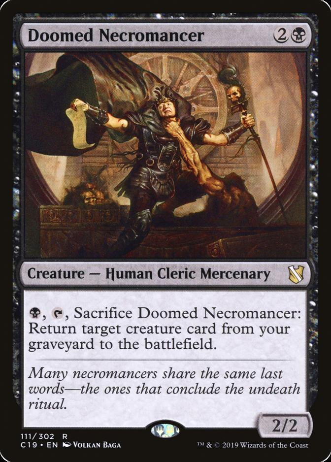 Doomed Necromancer [C19]