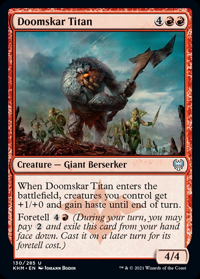 Doomskar Titan [KHM]