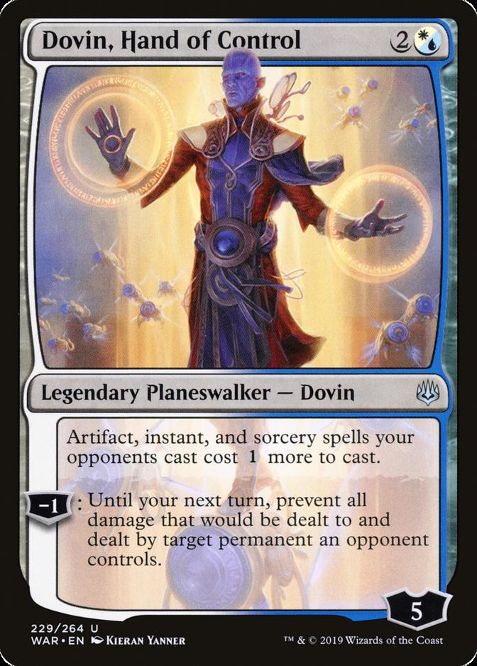 Dovin, Hand of Control [WAR]