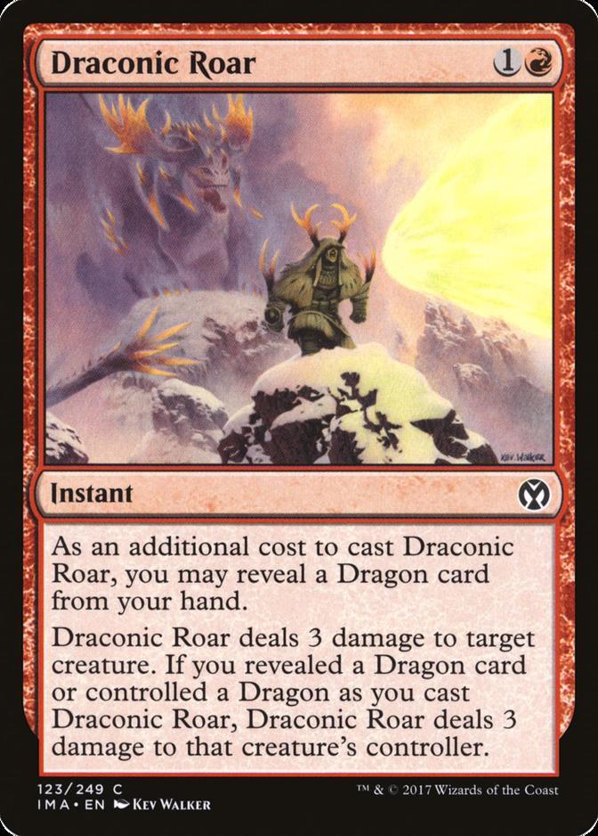 Draconic Roar [IMA]