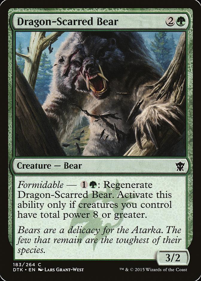 Dragon-Scarred Bear [DTK]