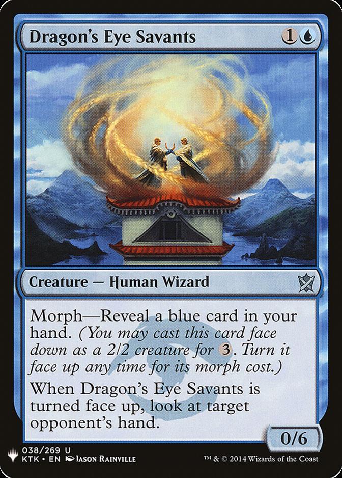 Dragon's Eye Savants [MB1]