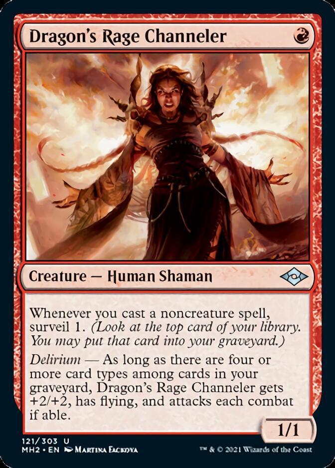 Dragon's Rage Channeler [J21]