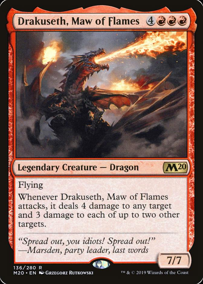 Drakuseth, Maw of Flames [M20]