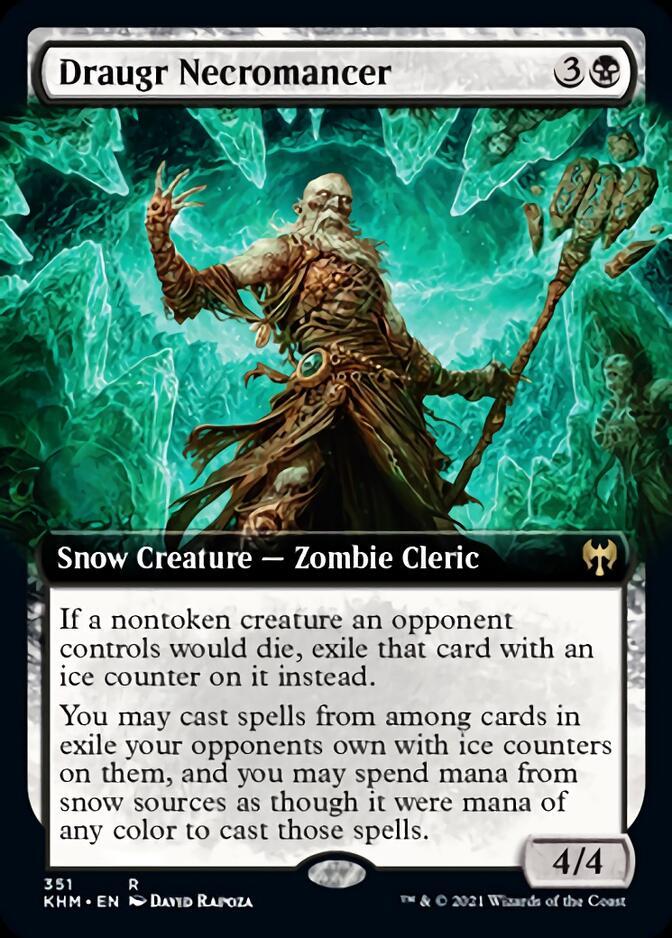 Draugr Necromancer <extended> [KHM]