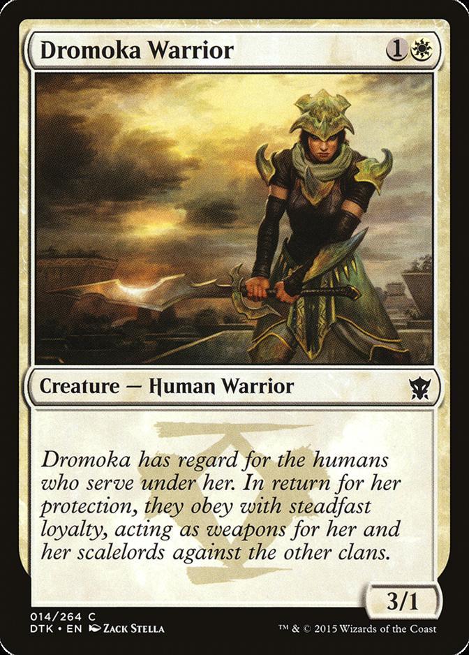 Dromoka Warrior [DTK]