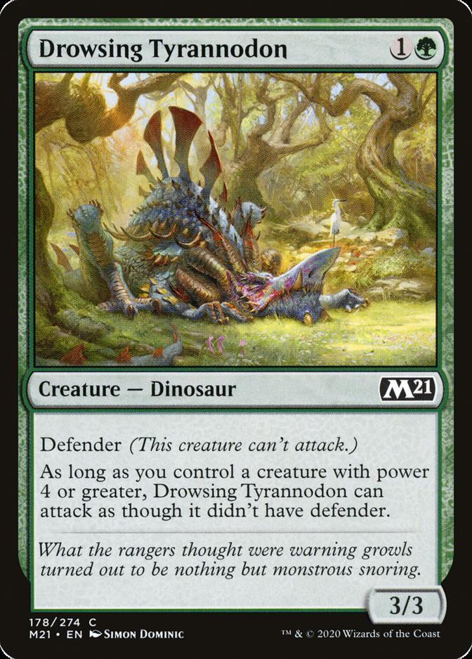 Drowsing Tyrannodon [M21] (F)