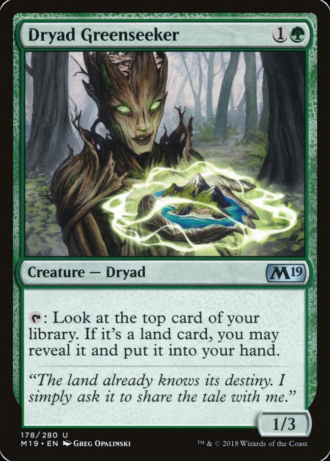 Dryad Greenseeker [M19]