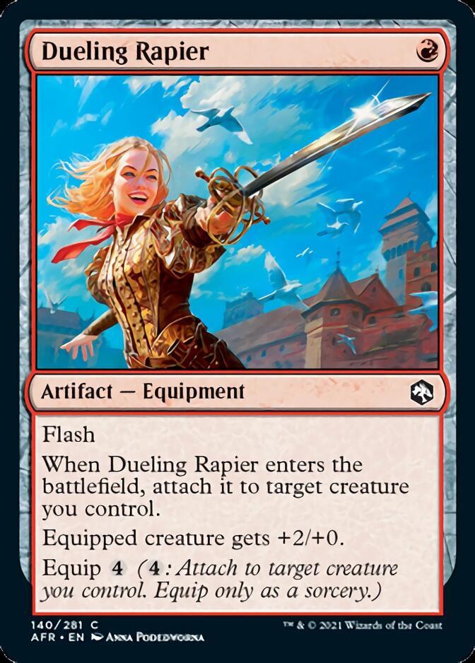 Dueling Rapier [AFR]