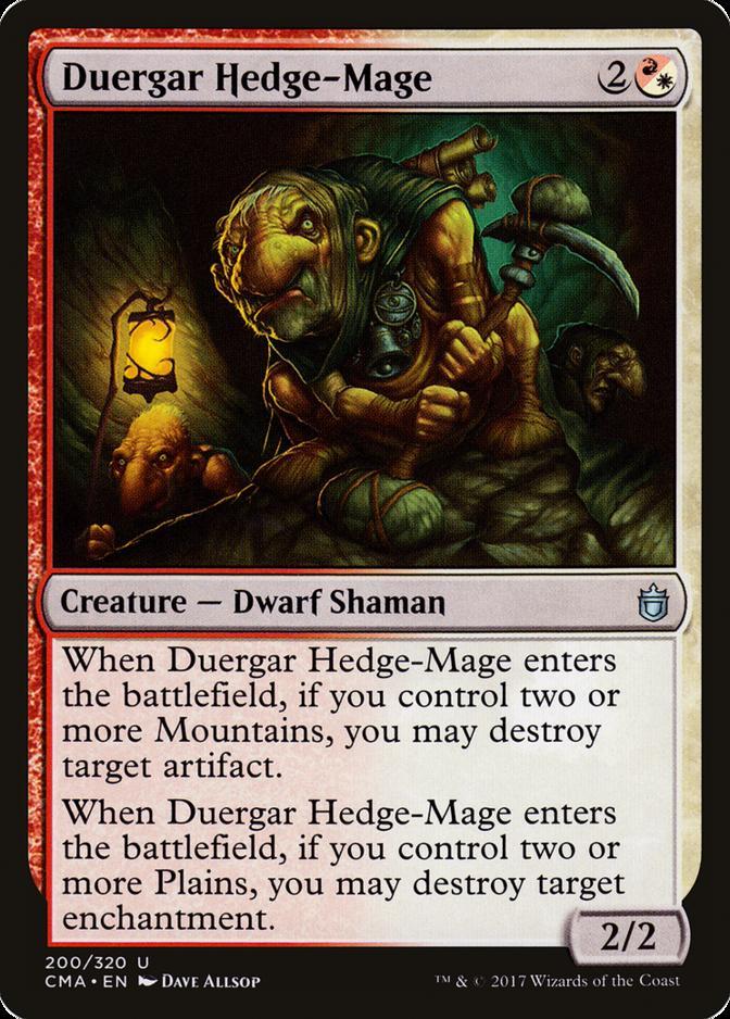 Duergar Hedge-Mage [CMA]