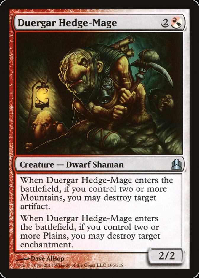 Duergar Hedge-Mage [CMD]