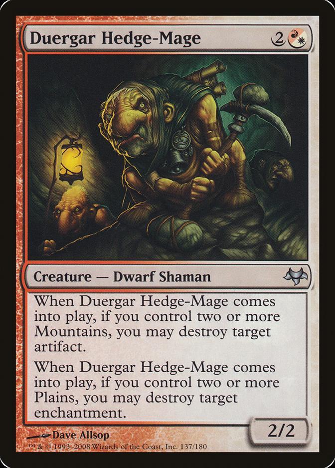 Duergar Hedge-Mage [EVE]