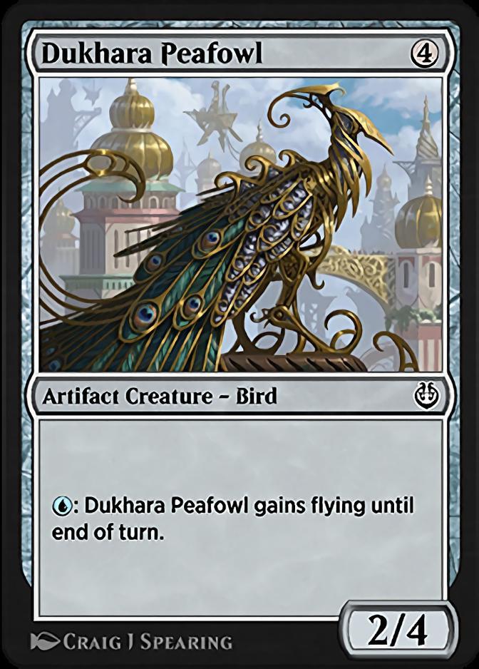 Dukhara Peafowl [KLR]