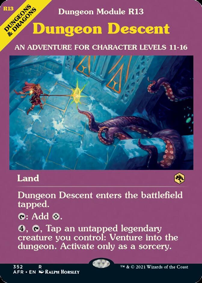 Dungeon Descent <classic module> [AFR]