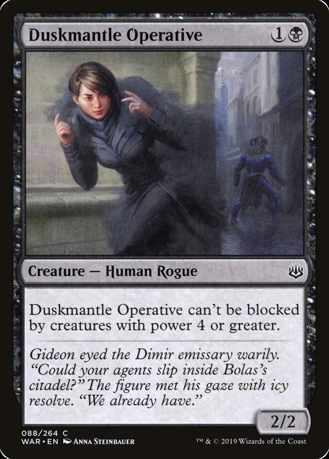 Duskmantle Operative [WAR]